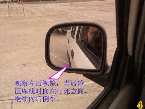 方停车技巧图解